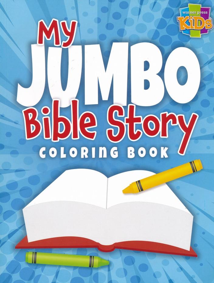 My Jumbo Bible Story Coloring Book
