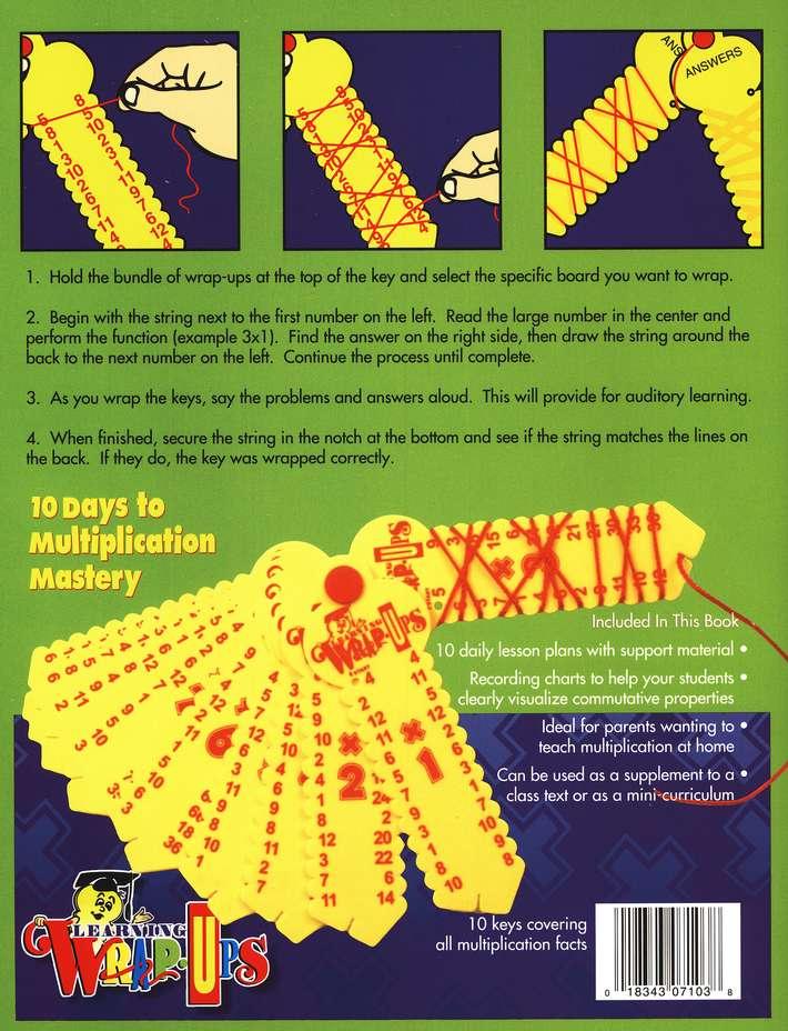 Learning Wrap-Ups Multiplication Keys Homeschool Math
