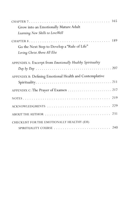 Emotionally Healthy Spirituality, Updated Edition: Peter Scazzero:  9780310348498 - Christianbook.com