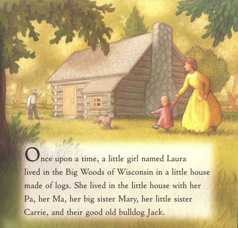 Summertime in the Big Woods,  My First Little House Books