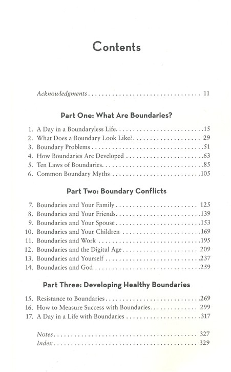 boundaries in dating by dr henry cloud and dr john townsend