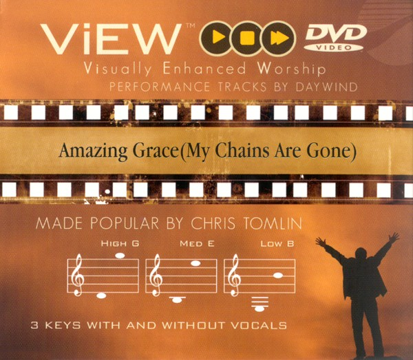 Amazing Grace (My Chains Are Gone), Accompaniment DVD
