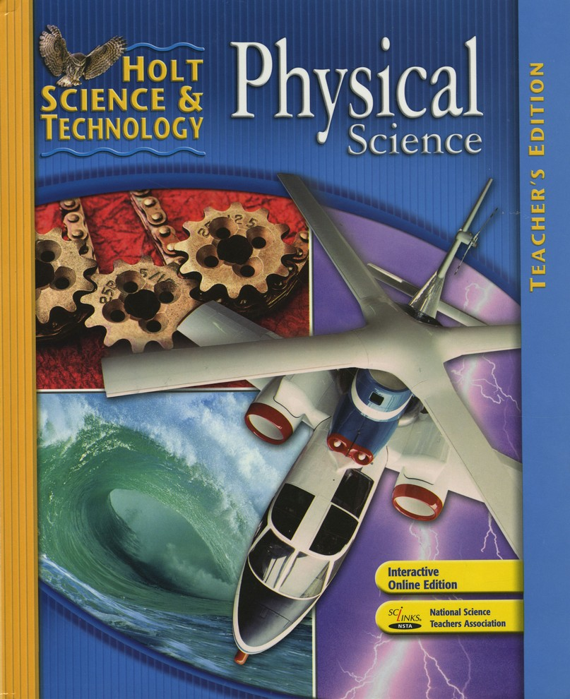 Holt Science & Technology: Physical Science Homeschool Package with Teacher's  Edition: 9780547353784 - Christianbook.com