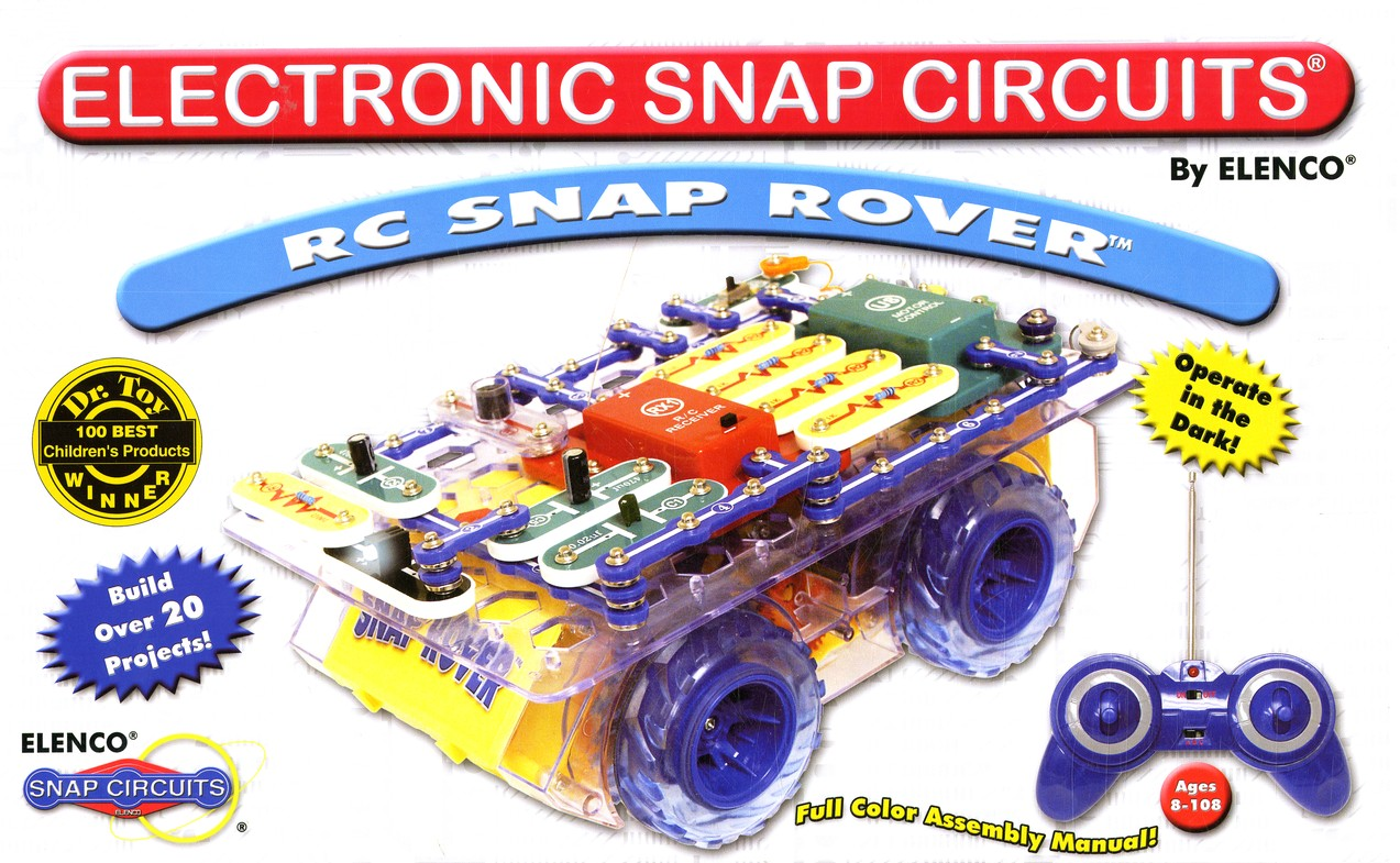 Electronic Snap Circuits Rc Snap Rover Christianbook