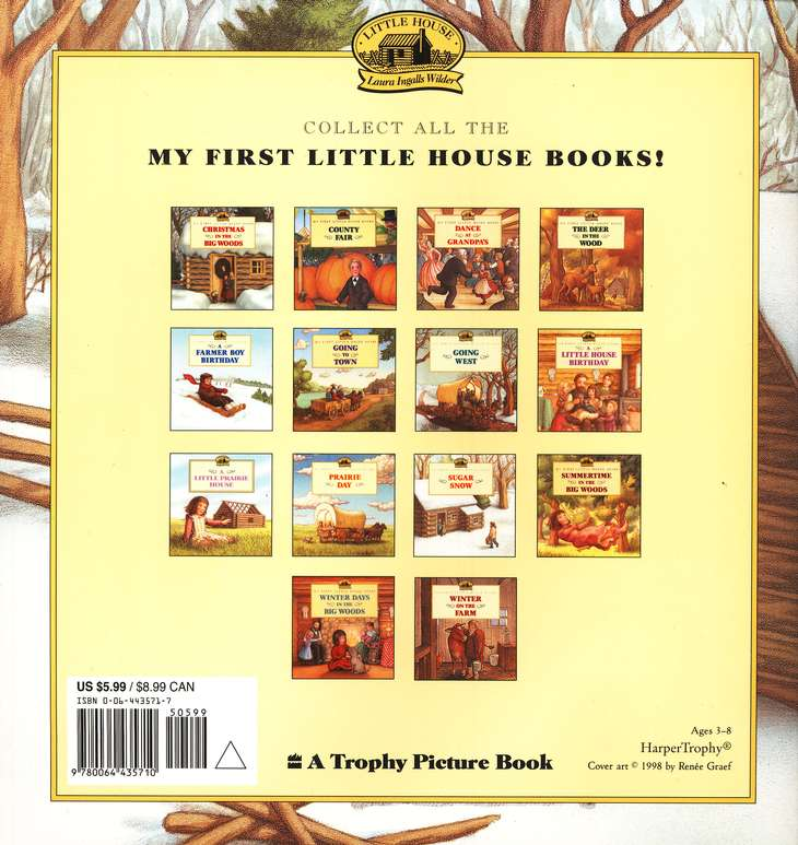 Sugar Snow, My First Little House Books