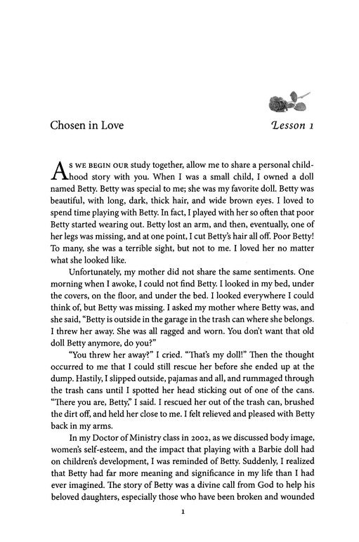 Accepted in the Beloved: A Devotional Bible Study for Women on Finding Healing and Wholeness in God's Love
