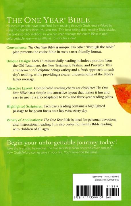 NIV The One Year Bible