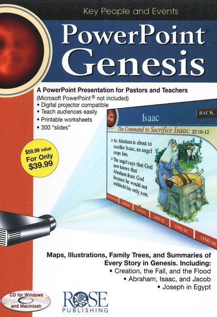 Genesis: PowerPoint CD-ROM