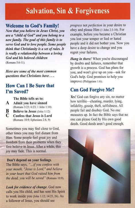 Following Jesus, Pamphlet