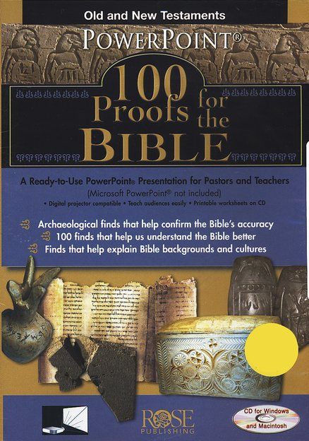 100 Proofs for the Bible: PowerPoint CD-ROM
