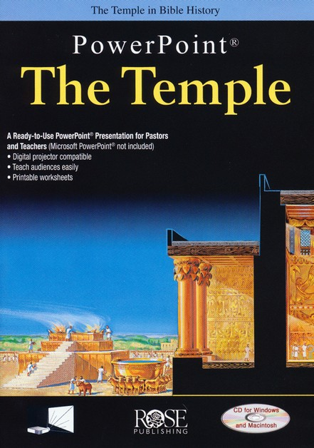 The Temple: PowerPoint CD-ROM