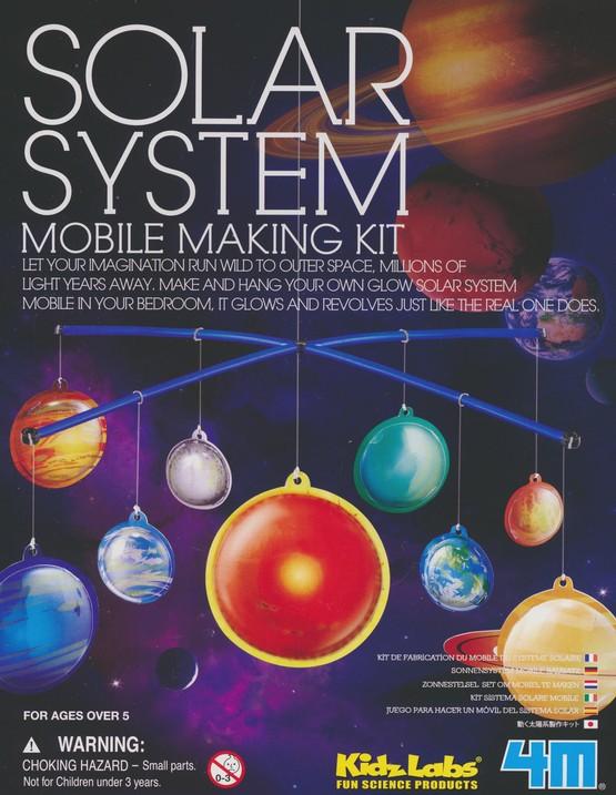 Glow Solar System Mobile Kit