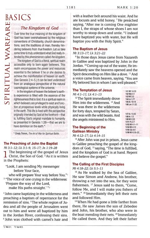 100 Spiritual Warfare Scriptures