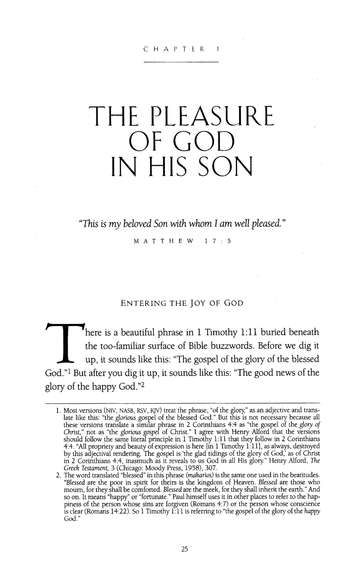 The Pleasures of God - audiobook on MP3