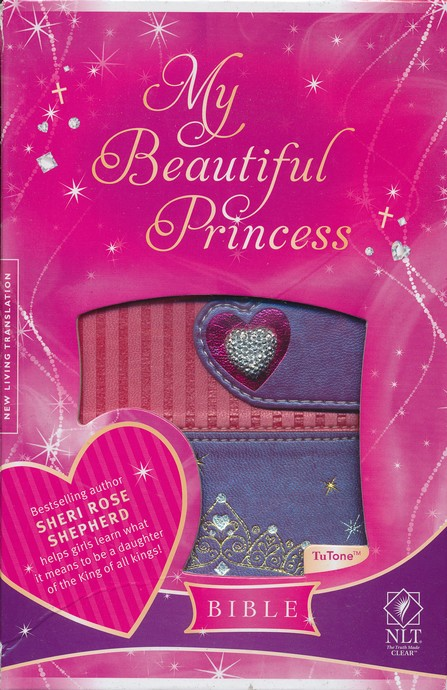 NLT My Beautiful Princess Bible for Little Girls, Imitation Leather