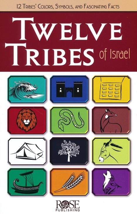 Twelve Tribes Of Israel Pamphlet 9781596369160 Christianbook
