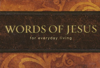 Words of Jesus for Everyday Living--Pocket Devotional