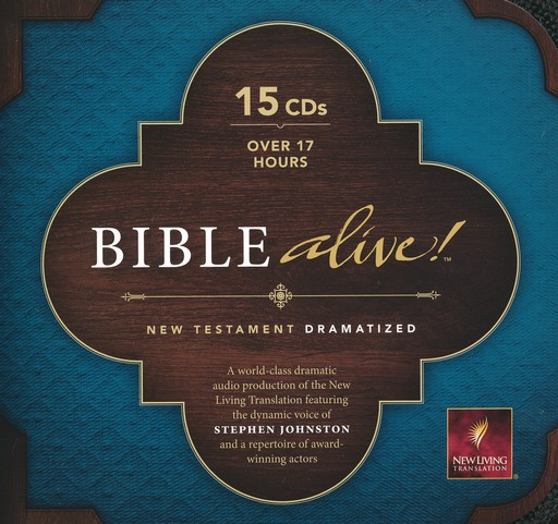 NLT Bible Alive! Audio New Testament on CD