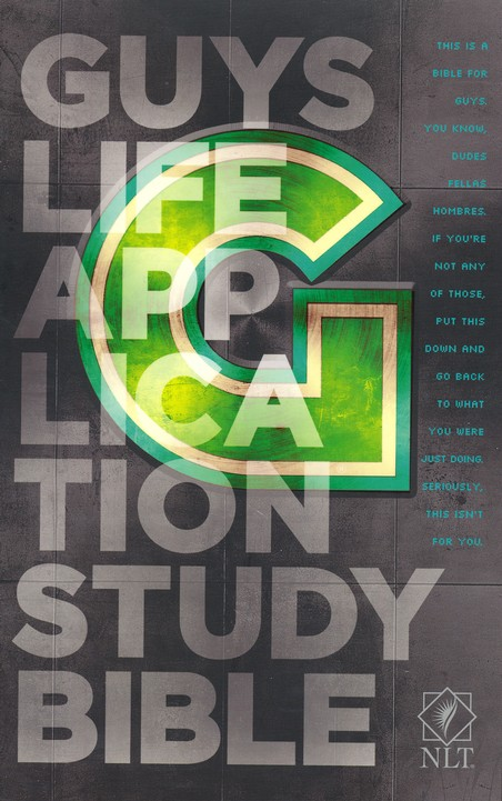 NLT Guys Life Application Study Bible, Softcover