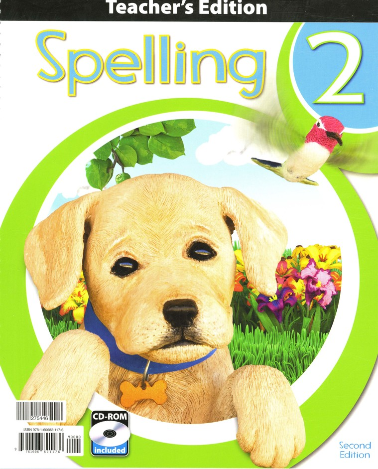 BJU Spelling Grade 2 Teacher's Edition with CD-Rom (Second Edition)