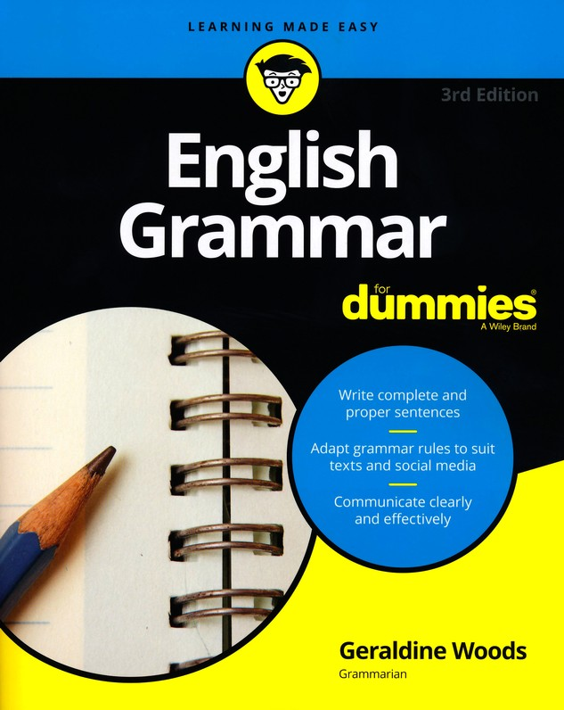 English Grammar For Dummies Geraldine Woods 9781119376590