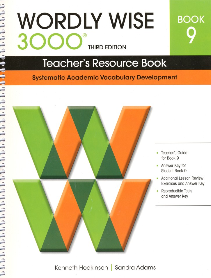 Wordly Wise 3000 Teacher's Resource Book 9, 3rd Edition