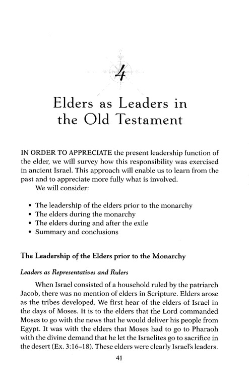 The Elder: Today's Ministry Rooted in All of Scripture