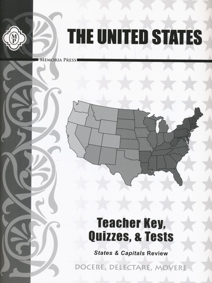 United States Review Teacher Key and Tests