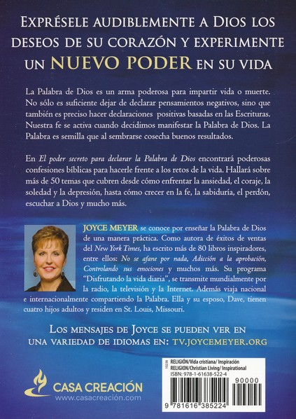 El Poder Secreto para Declarar la Palabra de Dios (The Secret Power of Speaking God's Word)