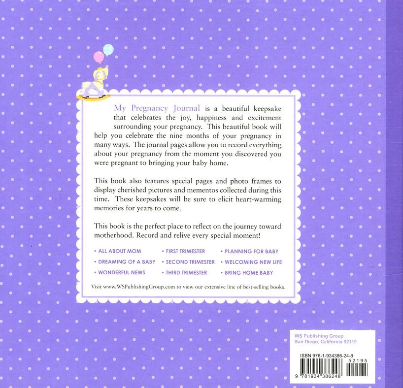 My Pregnancy Journal: Elizabeth Lluch, Alex Lluch: 9781934386248 ...