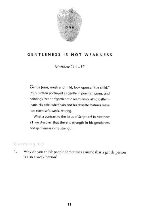 Gentleness: The Strength of Being Tender, Fruit of the Spirit Bible Studies