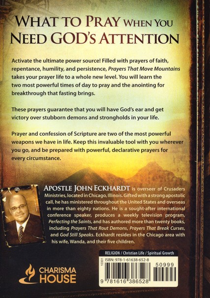 Prayers That Move Mountains: Power Prayers That Bring Answers from Heaven