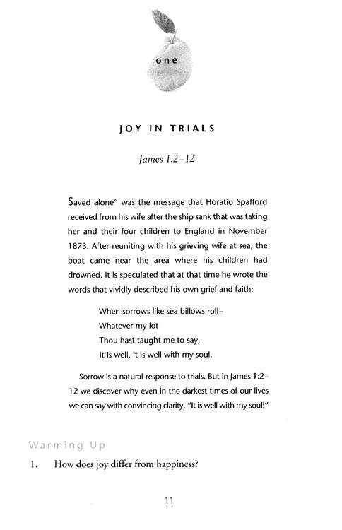 Joy: How to Rejoice in Any Situation