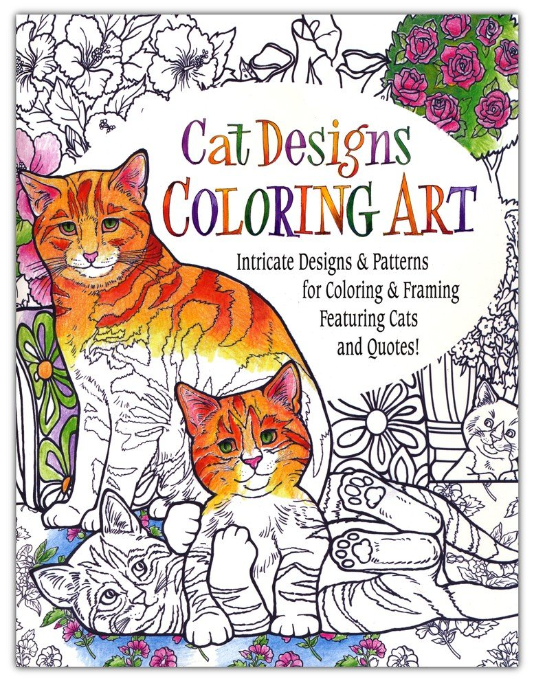 Cat Coloring Book For Adults 9780996386890 Christianbook Com