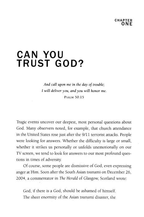 Is God Really in Control? Trusting God in a World of Terrorism, Tsunamis, and Personal Tragedy