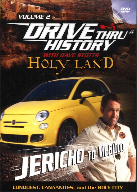 Holy Land: Conquest, Canaanites, and the Holy City, Vol. 2,  DVD - Jericho to Megiddo, Drive Thru History Series