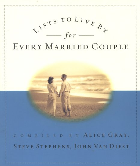 Lists to Live By for Every Married Couple