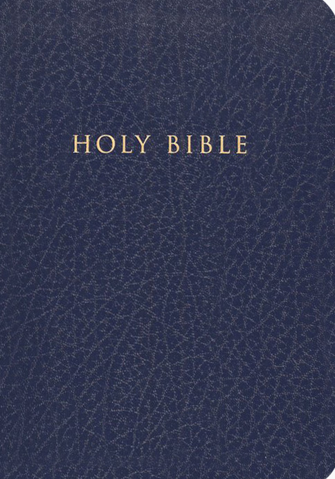 Holman Christian Standard Gift & Award Bible, Imitation leather, Blue