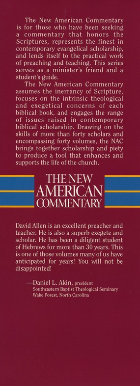 Hebrews: New American Commentary [NAC]