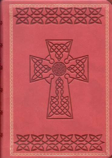 Holman Christian Standard Bible Celtic Bible, Crimson Simulated Leather