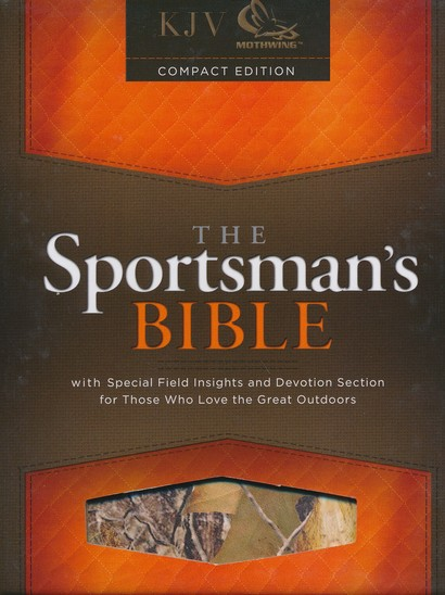 KJV Sportsman's Bible--Soft leather-look, British Tan