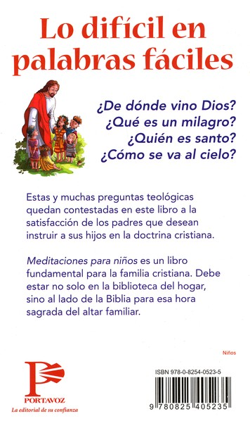 Meditaciones para Niños  (Devotions for the Children's Hour)