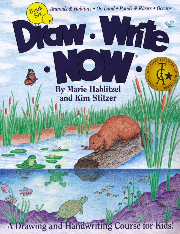 Draw Write Now, Book 6: Animals and Habitats - On Land, Ponds and Rivers, Oceans