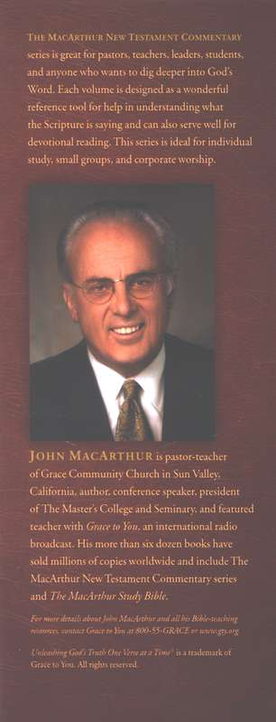 John 1-11: The MacArthur New Testament Commentary