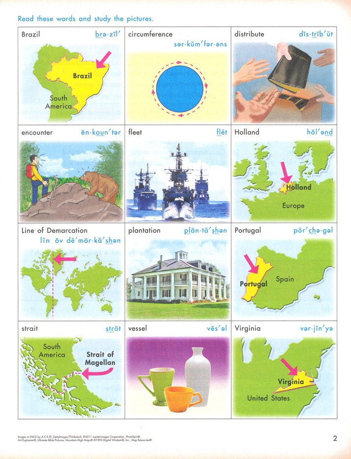 Social Studies PACE 1051, 4th Edition Grade 5