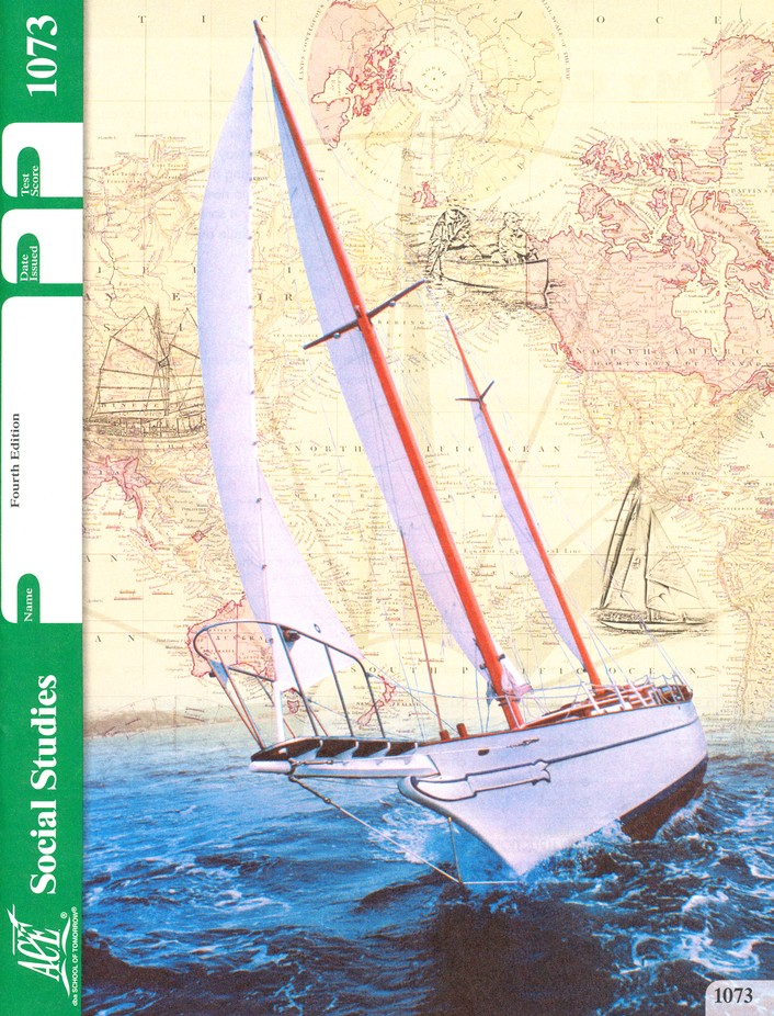 4th Edition Social Studies PACE 1073 Grade 7