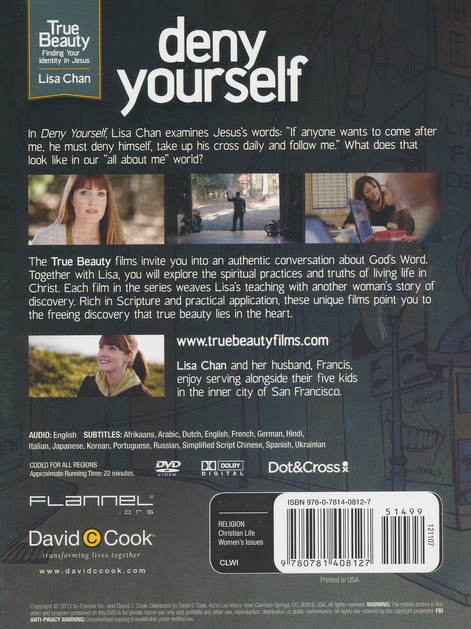 Deny Yourself, DVD #2