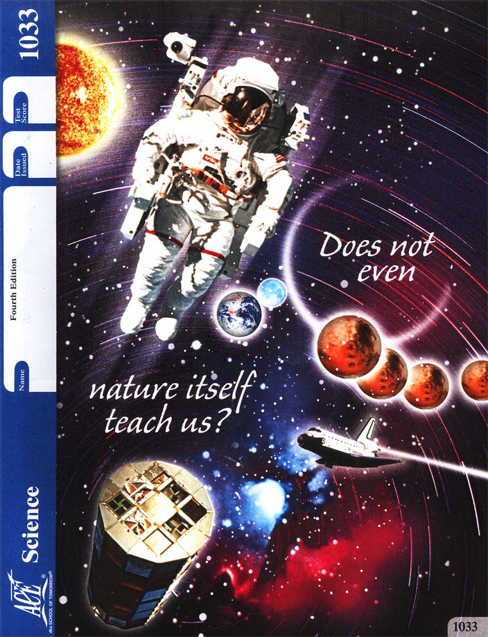 4th Edition Science PACE 1033, Grade 3
