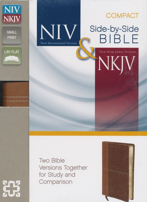 NIV and NKJV Side-by-Side Bible, Compact: Two Bible Versions Together for Study and Comparison