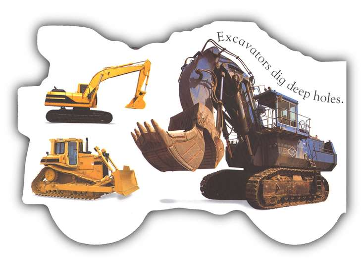 Things That Go Board Books: Diggers & Dumpers